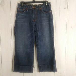 David Kahn capri jeans size 2